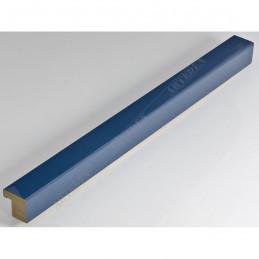SCO6008/23 20x20 - mała niebieski jeans lakier ramka do zdjęć i obrazków