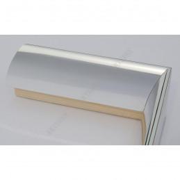 SCO6009/46 13x60 - mała srebro wysoki połysk ramka do zdjęć i obrazków sample1