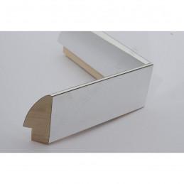 SCO6009/46 13x60 - mała srebro wysoki połysk ramka do zdjęć i obrazków sample