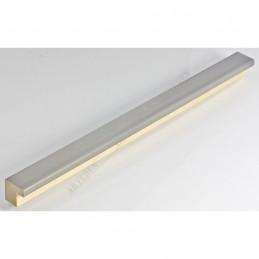 SCO6008/212 20x20 - mała srebro drapane ramka do zdjęć i obrazków sample