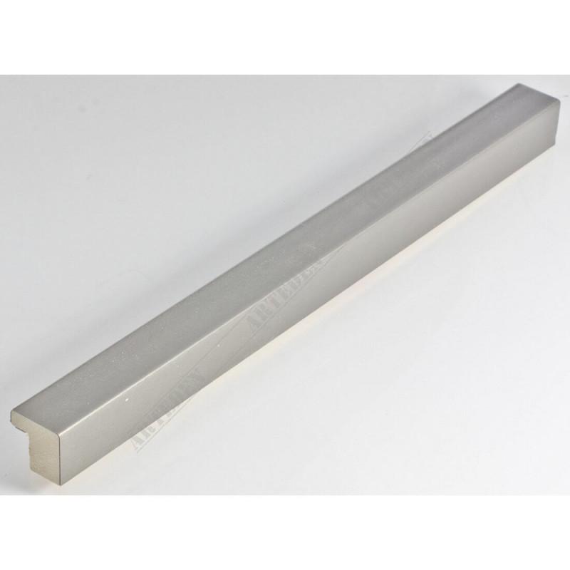 SCO6008/212 20x20 - mała srebro drapane ramka do zdjęć i obrazków
