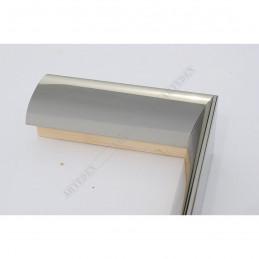 SCO6009/47 13x60 - mała ciemne srebro wysoki połysk ramka do zdjęć i obrazków sample1