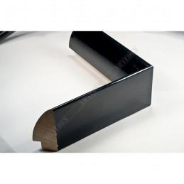 SCO6009/48 13x60 - mała czarna wysoki połysk ramka do zdjęć i obrazków sample