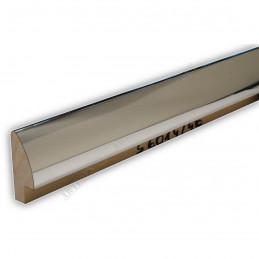 SCO6014/46 8x35 - mała srebrna wysoki połysk ramka do zdjęć i obrazków