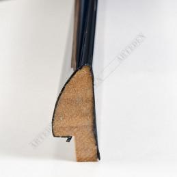 SCO6014/48 8x35 - mała czarna wysoki połysk ramka do zdjęć i obrazków sample1