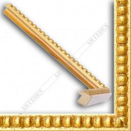 SCO724/11 18x20 - mała złota kulki ramka do zdjęć i obrazków sample