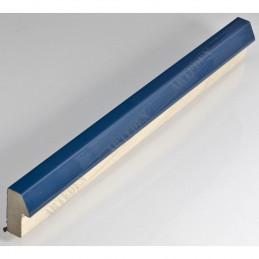 SCO808/23 20x35 - mała niebieski jeans lakier ramka do zdjęć i obrazków sample