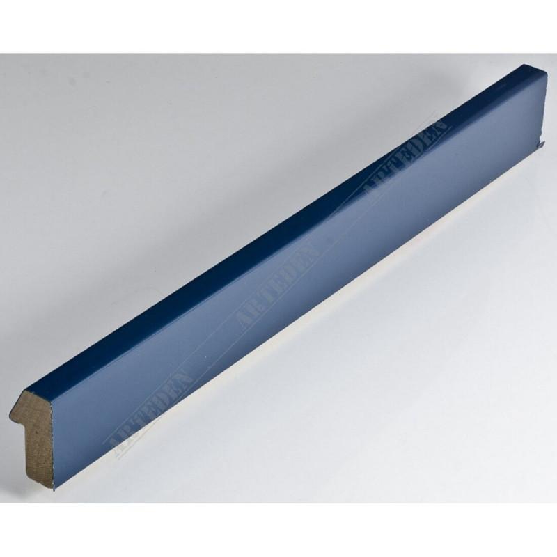 SCO808/23 20x35 - mała niebieski jeans lakier ramka do zdjęć i obrazków