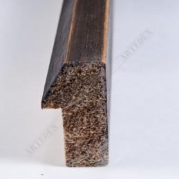 SCO808/237 20x35 - mała brąz blejtram ze skosem ramka do zdjęć i obrazków sample