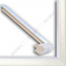 SCO809/181 30x20 - wąska srebro jasne rama do zdjęć i luster sample