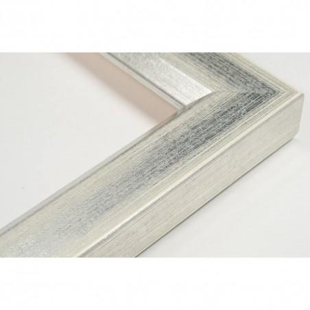 SCO809/181 30x20 - wąska srebro jasne rama do zdjęć i luster