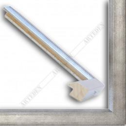 SCO809/182 30x20 - wąska srebro ciemne rama do zdjęć i luster sample