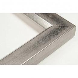 SCO809/182 30x20 - wąska srebro ciemne rama do zdjęć i luster