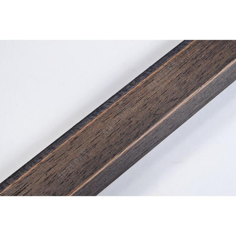 SCO809/237 30x20 - wąska ciemny brąz ze skosem rama do zdjęć i luster
