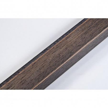 SCO809/237 30x20 - wąska ciemno brązowa ze skosem rama do zdjęć