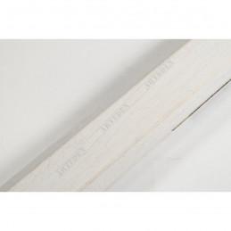 SCO809/239 30x20 - wąska biała ze skosem rama do zdjęć i luster