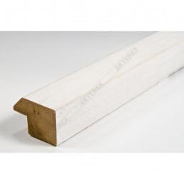 SCO809/239 30x20 - wąska biała ze skosem rama do zdjęć i luster sample1