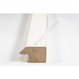 SCO809/239 30x20 - wąska biała ze skosem rama do zdjęć i luster sample