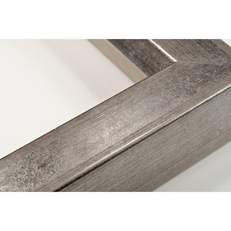 SCO816/182 35x40 - drewniana srebro ciemne blejtram rama do obrazów i luster