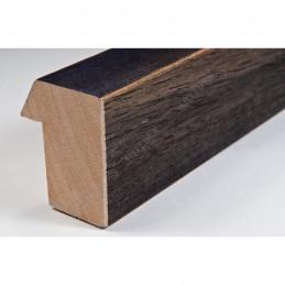 SCO816/237 35x42 - drewniana ciemny brąz blejtram ze skosem rama do obrazów i luster sample1