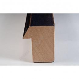 SCO816/237 35x42 - drewniana ciemny brąz blejtram ze skosem rama do obrazów i luster sample