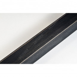 SCO816/238 35x42 - drewniana czarna blejtram ze skosem rama do obrazów i luster