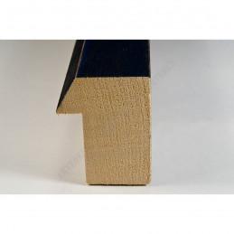 SCO816/238 35x42 - drewniana czarna blejtram ze skosem rama do obrazów i luster sample