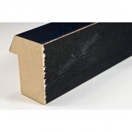 SCO816/238 35x42 - drewniana czarna blejtram ze skosem rama do obrazów i luster sample1