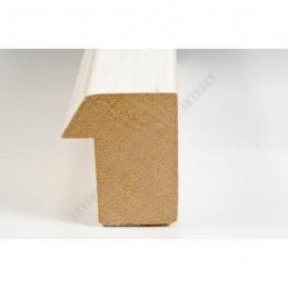 SCO816/239 35x42 - drewniana biała blejtram ze skosem rama do obrazów i luster sample