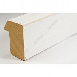SCO816/239 35x42 - drewniana biała blejtram ze skosem rama do obrazów i luster sample1