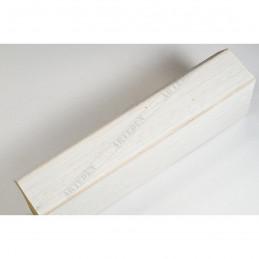 SCO816/239 35x42 - drewniana biała blejtram ze skosem rama do obrazów i luster