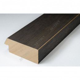 SCO817/237 72x28 - szeroka ciemny brąz ze skosem rama do obrazów i luster sample