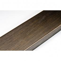 SCO817/237 72x28 - szeroka ciemny brąz ze skosem rama do obrazów i luster