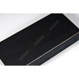 SCO817/238 72x28 - szeroka czarna ze skosem rama do obrazów i luster