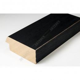 SCO817/238 72x28 - szeroka czarna ze skosem rama do obrazów i luster sample
