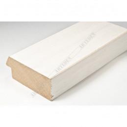 SCO817/239 72x28 - szeroka biała ze skosem rama do obrazów i luster sample