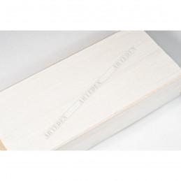 SCO817/239 72x28 - szeroka biała ze skosem rama do obrazów i luster