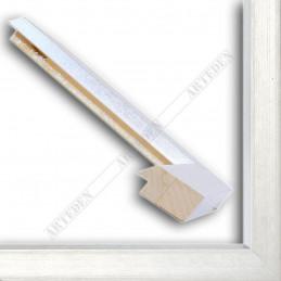 SCO818/181 50x25 - drewniana srebro jasne rama do obrazów i luster sample