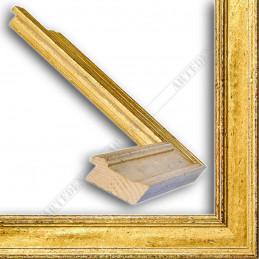 SCO826/42 47x19 - drewniana złota rama do obrazów i luster sample