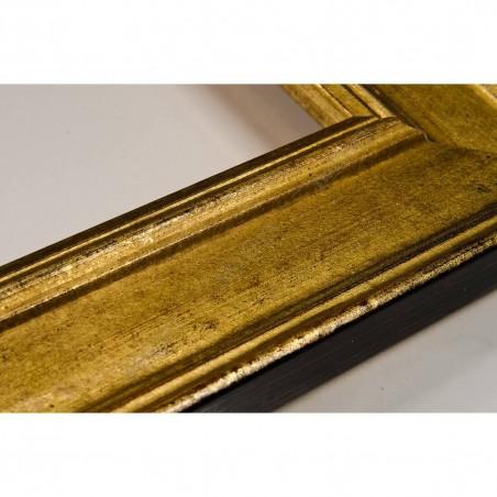 SCO826/42 47x19 - drewniana złota rama do obrazów i luster