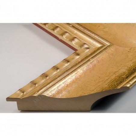 SCO9000/5 120x55 - champagne złota rama do dużych obrazów i luster
