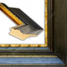 SCO9000/61FO 120x55 - rustykalny czarny rama do dużych obrazów i luster sample