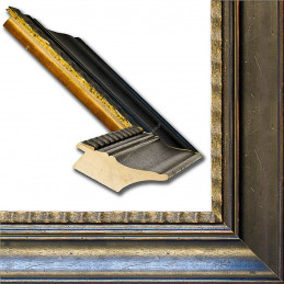 SCO9010/61 85x40 - szeroka antica rama do obrazów i luster sample