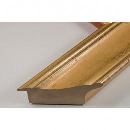 SCO9017/5 69x46 - drewniana champagne złota rama do obrazów i luster sample