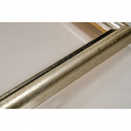 SCO943/51 17x20 - mała srebrna ramka do zdjęć i obrazków