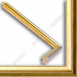 SCO943/52 17x20 - mała złota-czarna ramka do zdjęć i obrazków sample