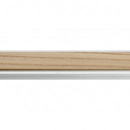SCO944/376 26x33 - wąska jasny orzech-biel rama do zdjęć i luster sample1