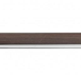 SCO944/377 26x33 - wąska ciemny orzech-biel rama do zdjęć i luster sample1