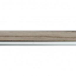 SCO944/379 26x33 - wąska ciemny popiel-biel rama do zdjęć i luster sample1