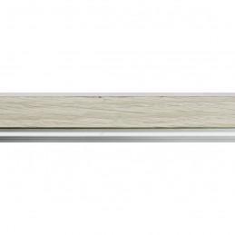 SCO944/380 26x33 - wąska jasny popiel-biel rama do zdjęć i luster sample1